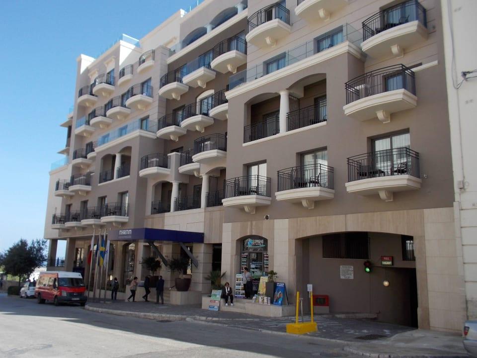 Das Hotel,  Haupteingang Maritim Antonine Hotel & Spa Malta