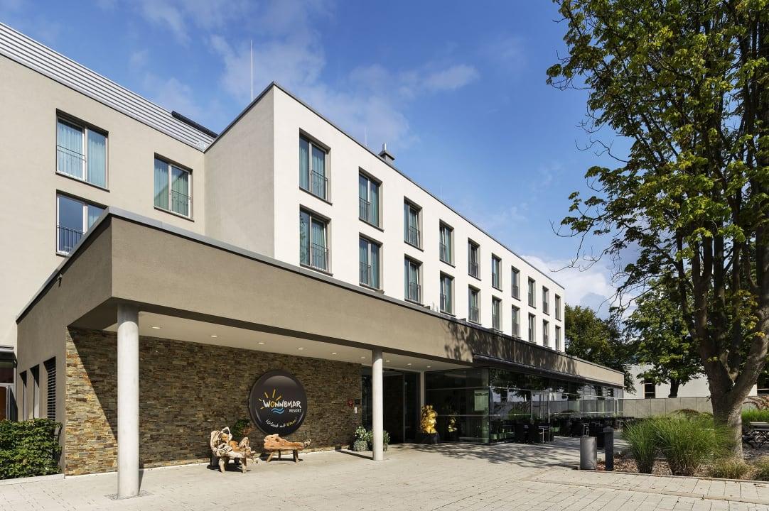 Außenansicht WONNEMAR Resort-Hotel