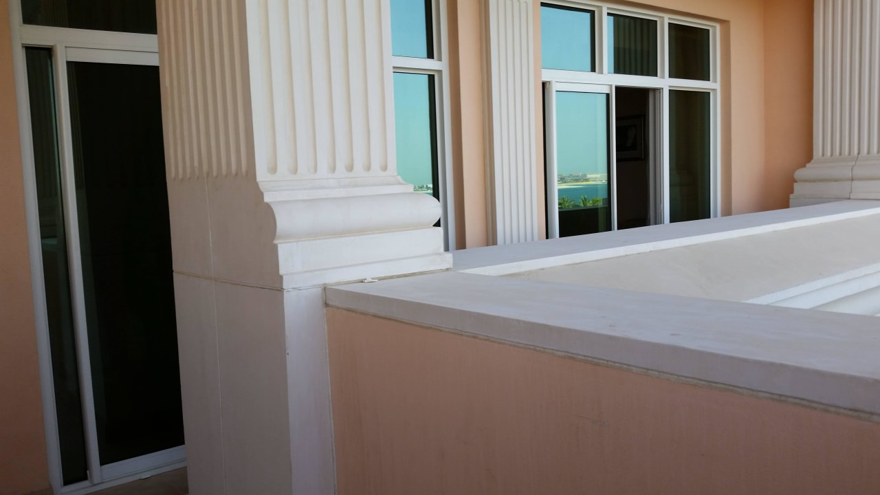 Sehr große Balkon Kempinski Hotel & Residences Palm Jumeirah
