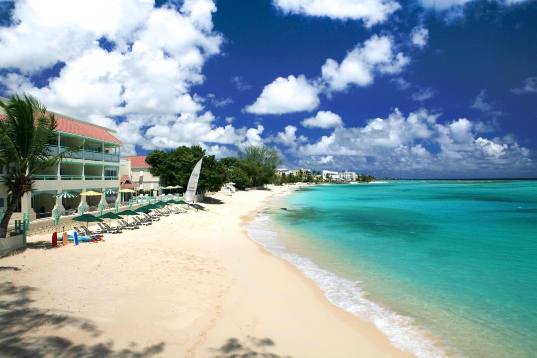 View of the Beach Coral Mist Beach Hotel