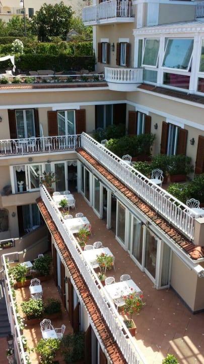 Terrassenseite Hotel Corallo Sorrento