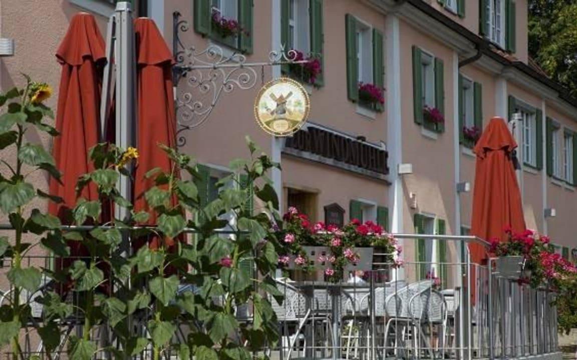 Terrasse Hotel Zur Windmühle