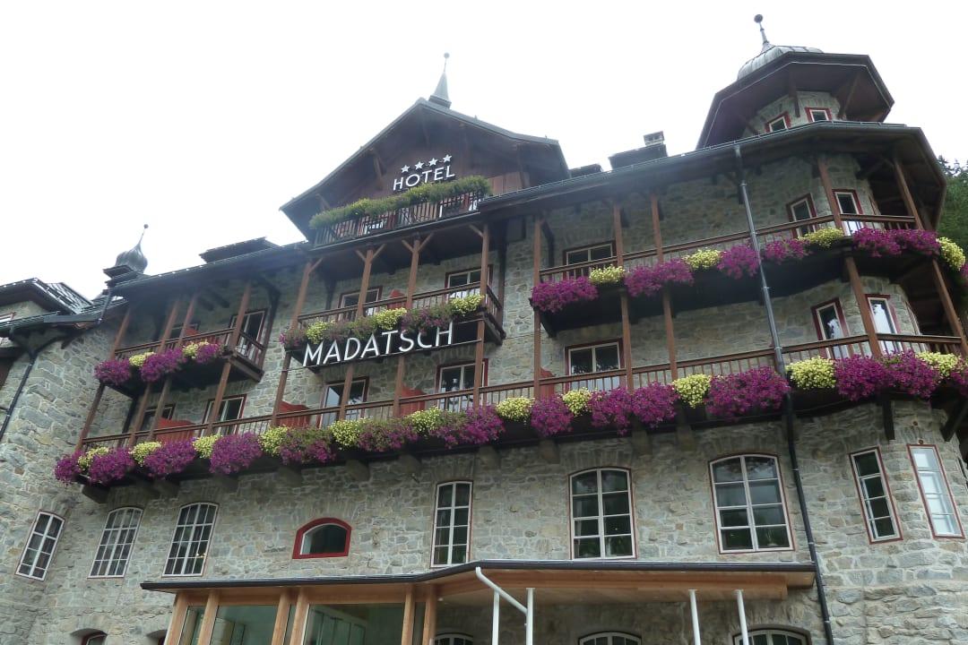 Außenansicht Hotel Madatsch