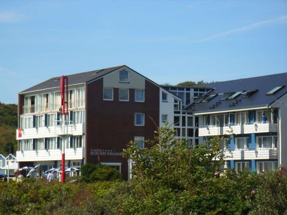 Blick auf das Hotel Hotel Rickmers Insulaner