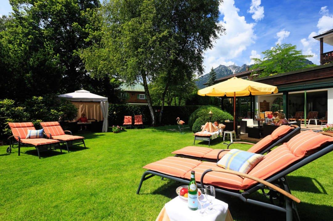 Hotelgarten Reindls Partenkirchner Hof