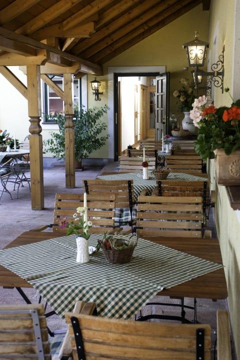 Terrasse Hotel Bloberger Hof