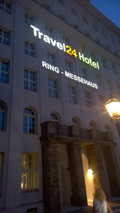 Außenansicht Travel24 Hotel Leipzig City