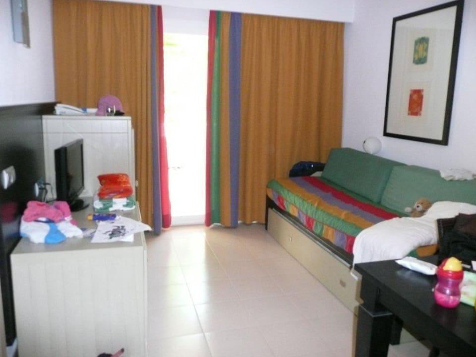 Appartement / Wohnraum mit Schlafcouch Blau Punta Reina Family Resort