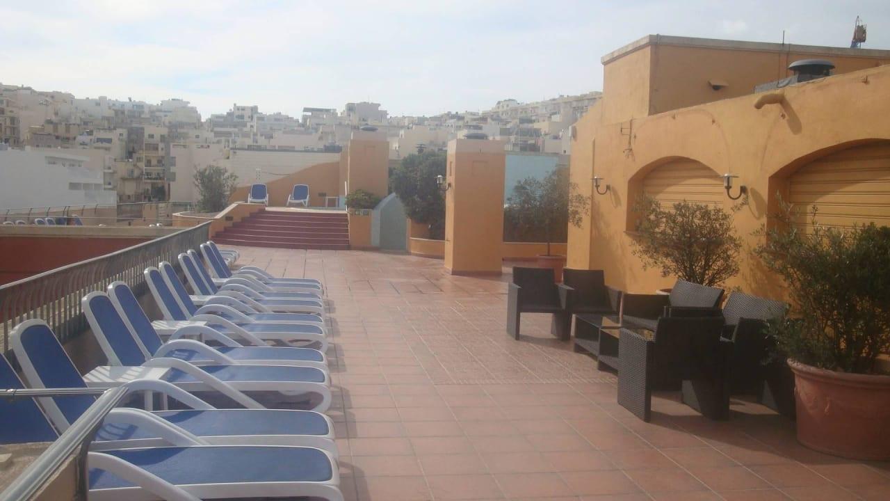 Dachterrasse Maritim Antonine Hotel & Spa Malta