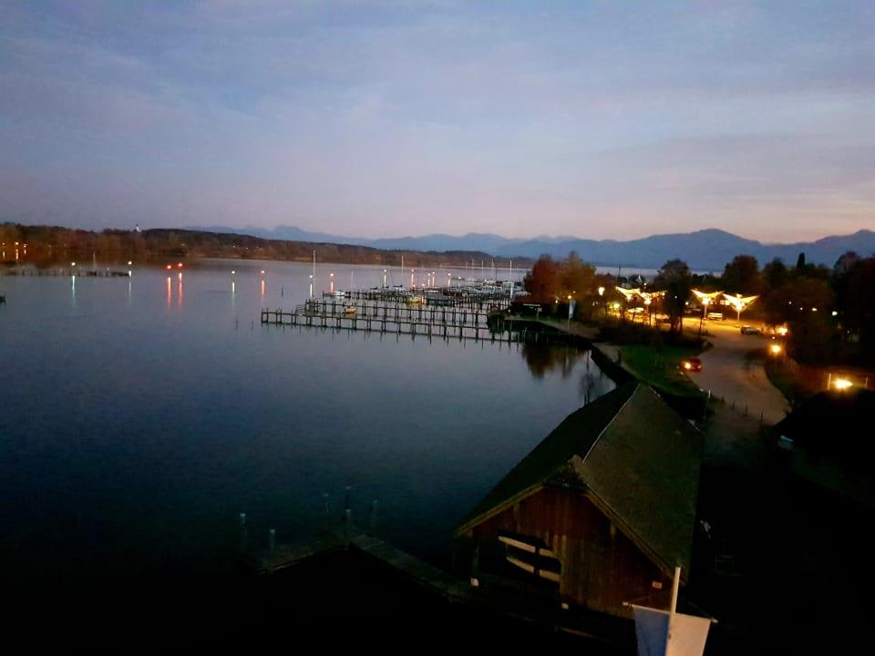 Ausblick Seehotel Wassermann