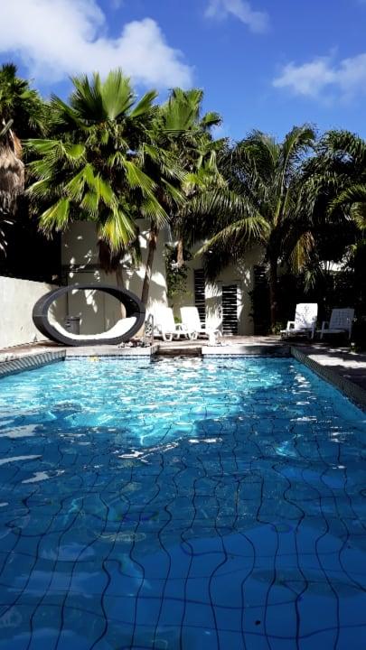 Gartenanlage Frangipani Apartments