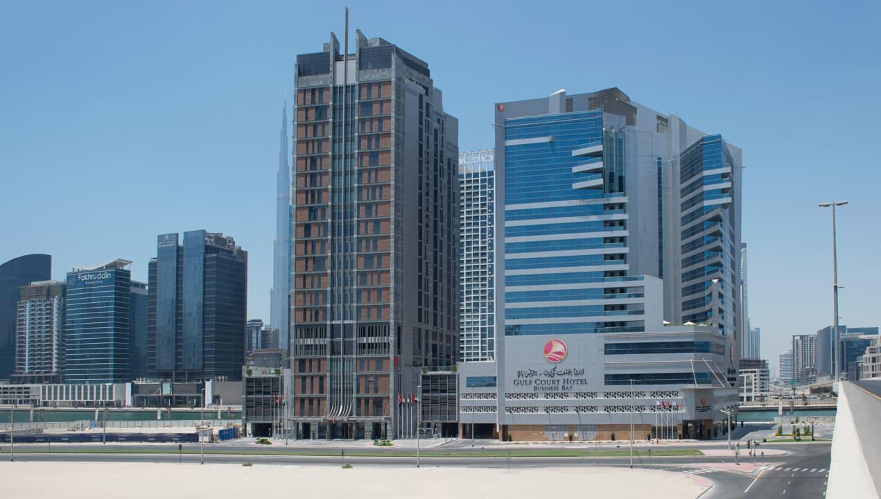 Außenansicht Gulf Court Hotel Business Bay, WorldHotels Collection