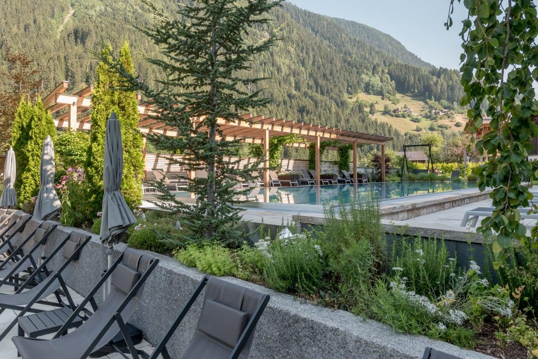 Gartenanlage Hotel Weisses Lamm