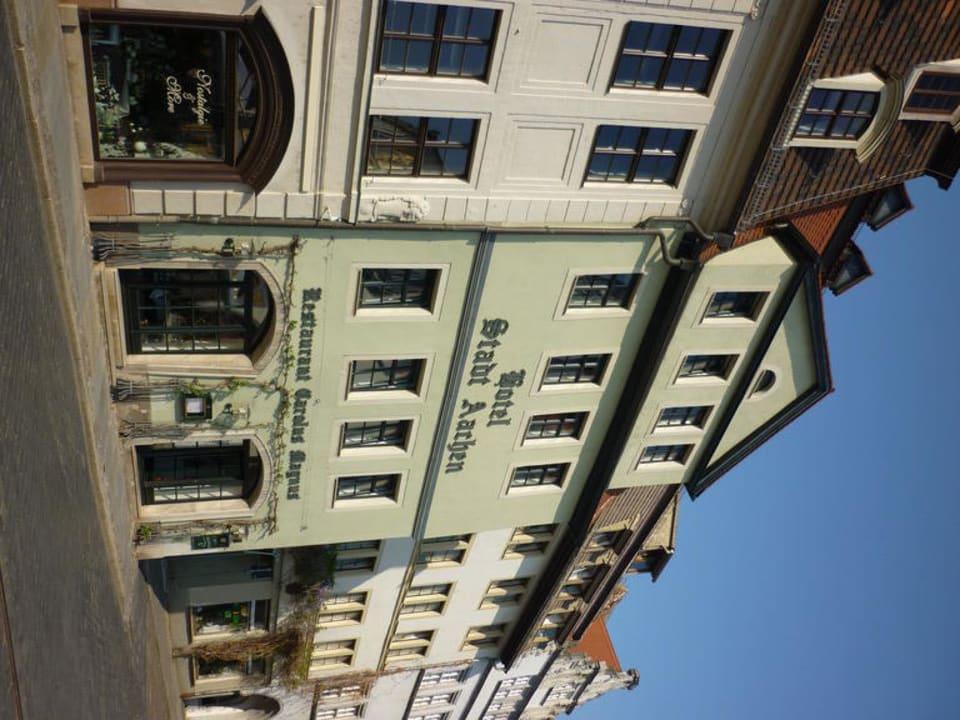 Außenansicht Hotel Stadt Aachen