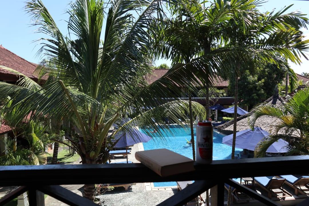 Ausblick Legian Paradiso Hotel Bali