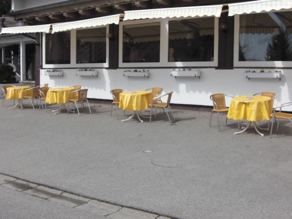 Bestuhlung Hotel Bergstätter Hof