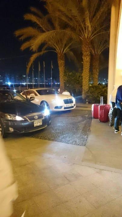 Einfahrt Kempinski Hotel & Residences Palm Jumeirah