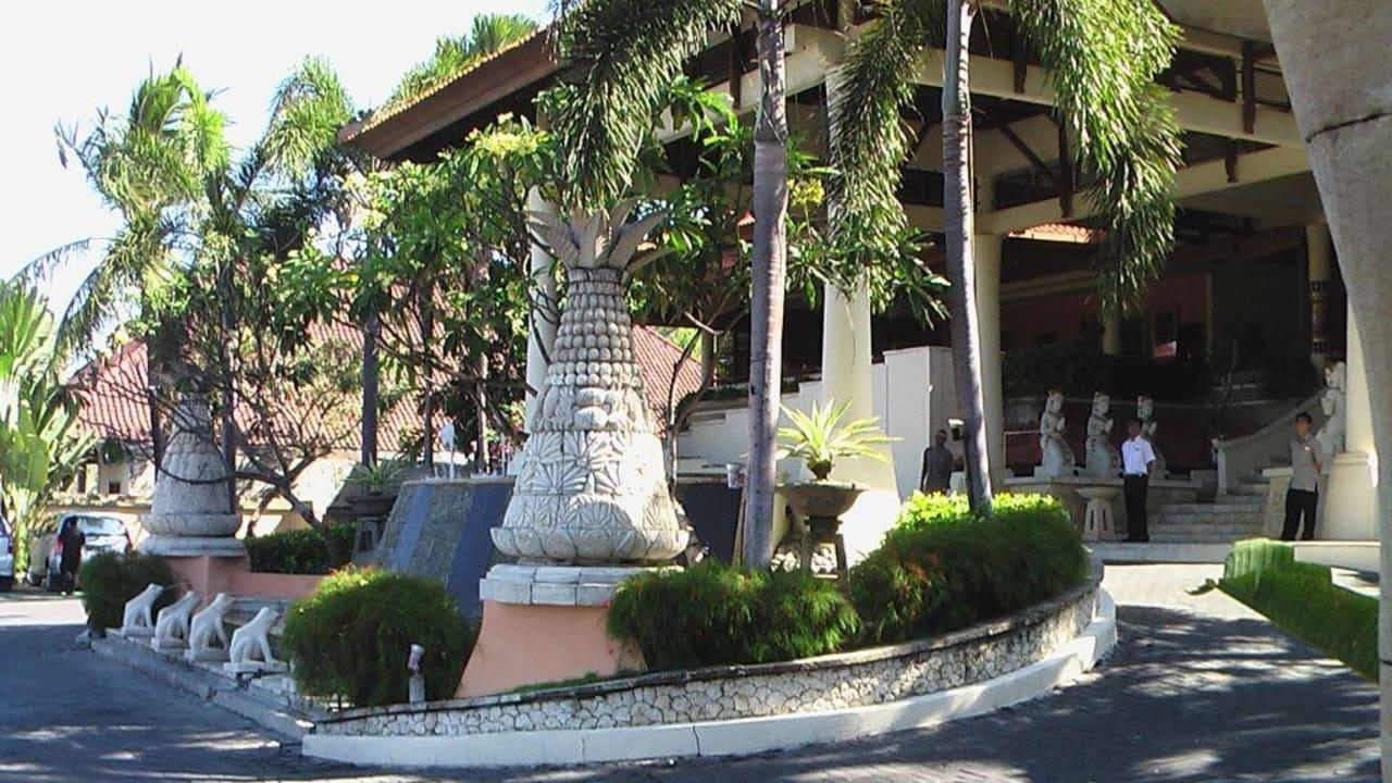 Haupteingang Camakila Tanjung Benoa (geschlossen)