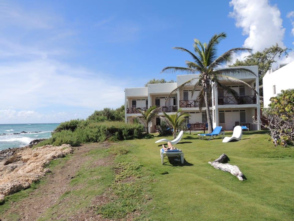 Blick auf die Anlage Apartments Ocean Spray Beach