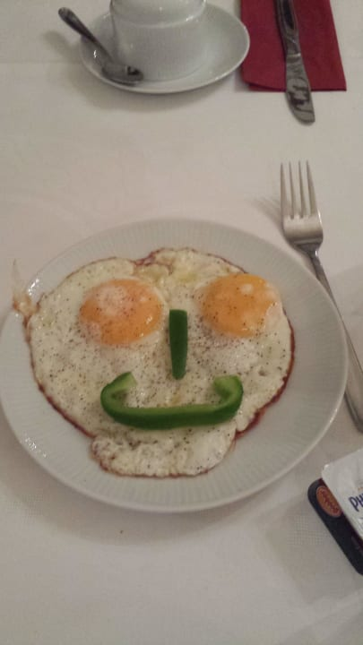 Gruß aus der Küche beim Frühstück Hotel Wester