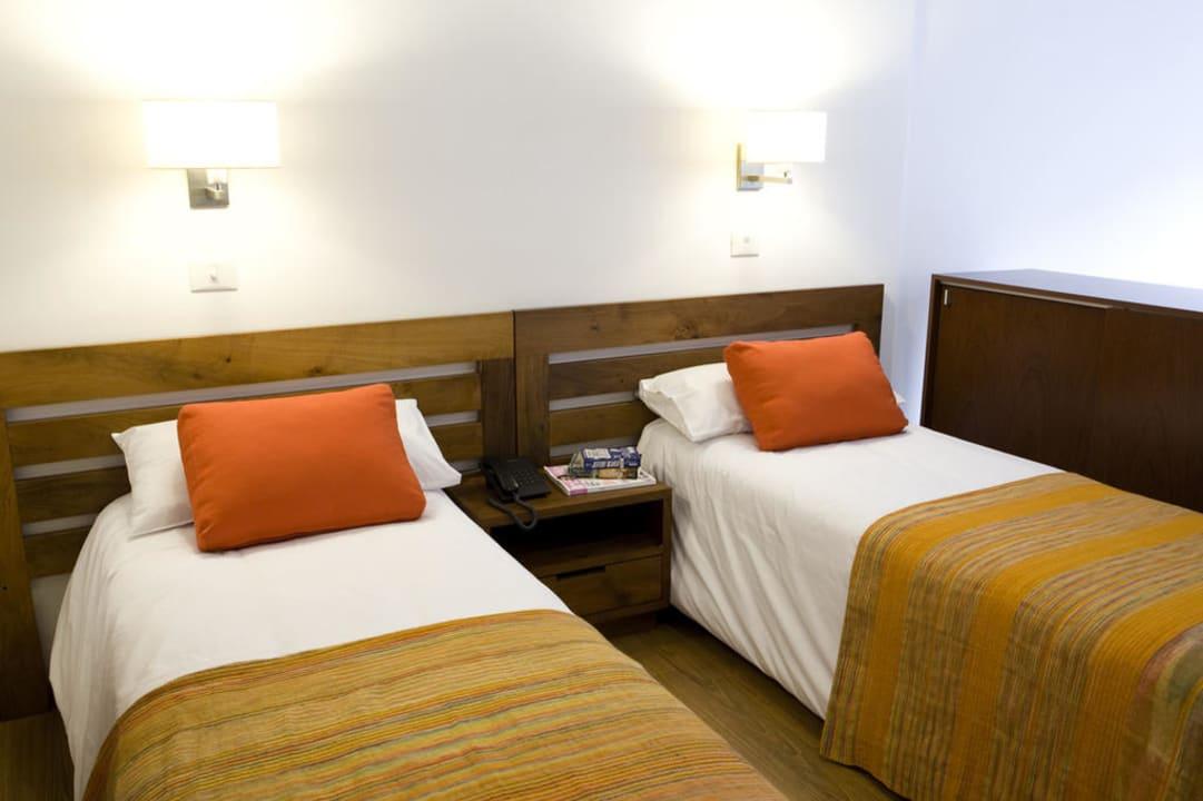Camas twin Piedras Suites