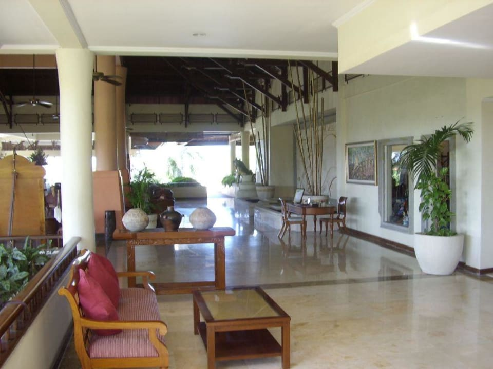 Blick in die Lobby Camakila Tanjung Benoa (geschlossen)