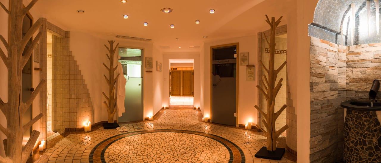 Die Sauna Landschaft Aktiv Panoramahotel Daniel