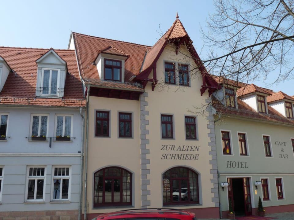 Vorderansicht Hotel Zur Alten Schmiede