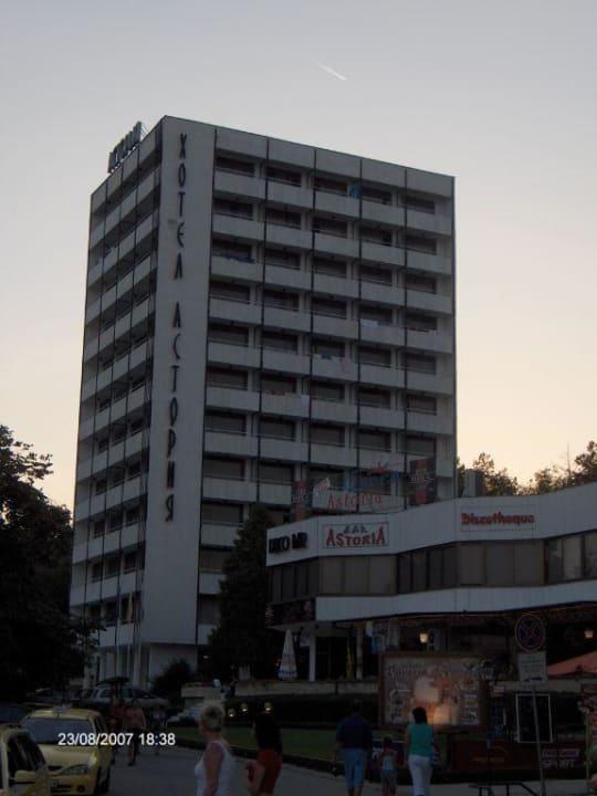 Hotel bei Tag ( wie im Katalog von Neckermann ) Hotel Astoria Palace  (Vorgänger-Hotel – existiert nicht mehr)
