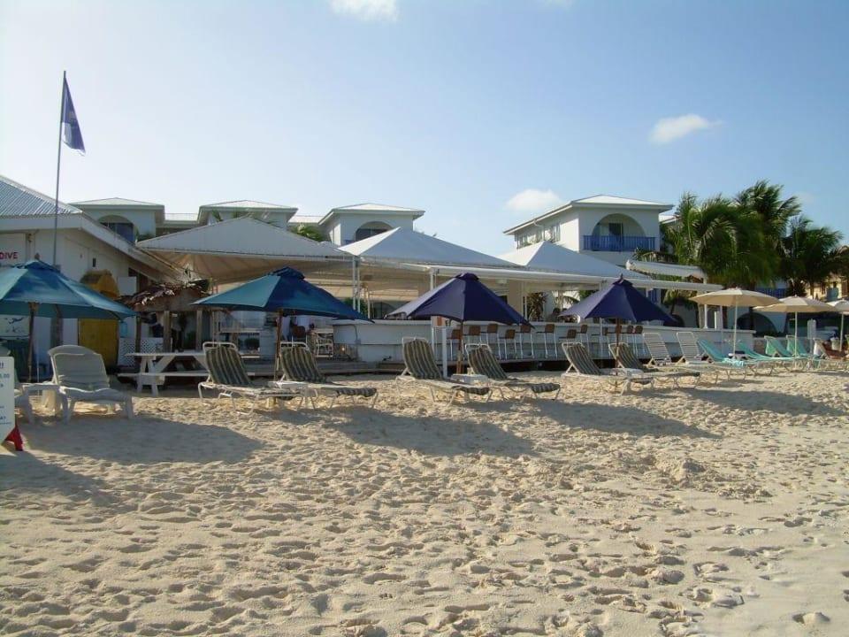 Hotel vom Strand aus Hotel Ku