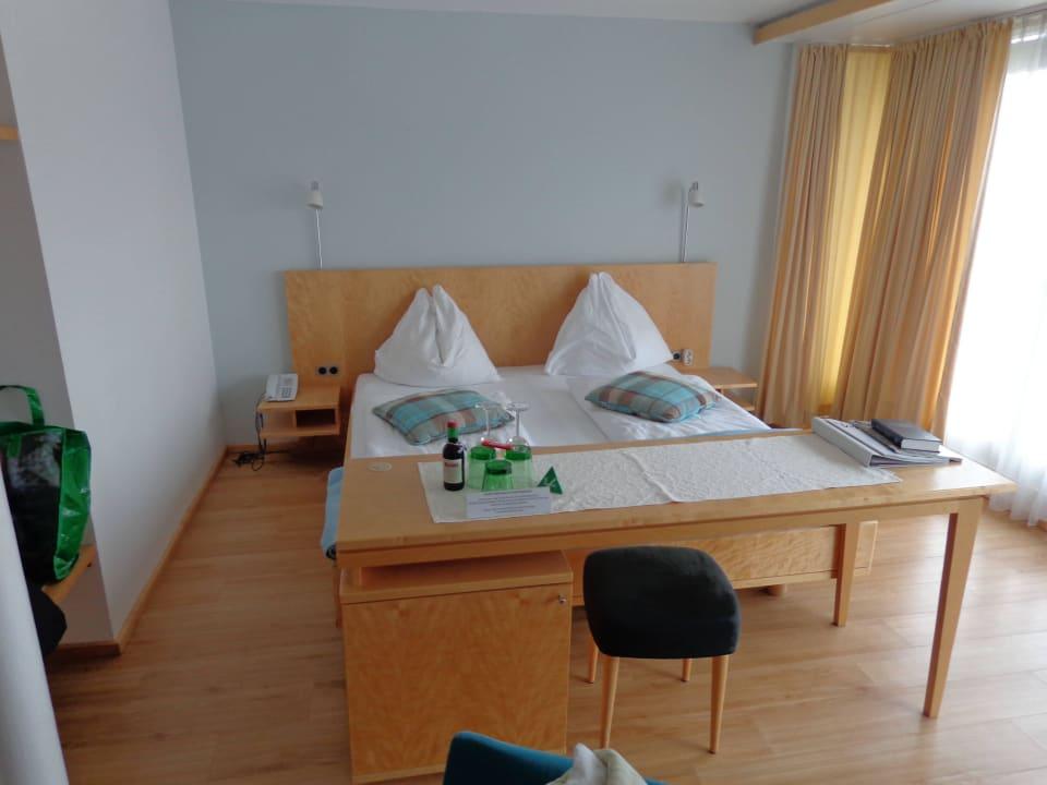 Bequemes Doppelbett Hotel Klinglhuber