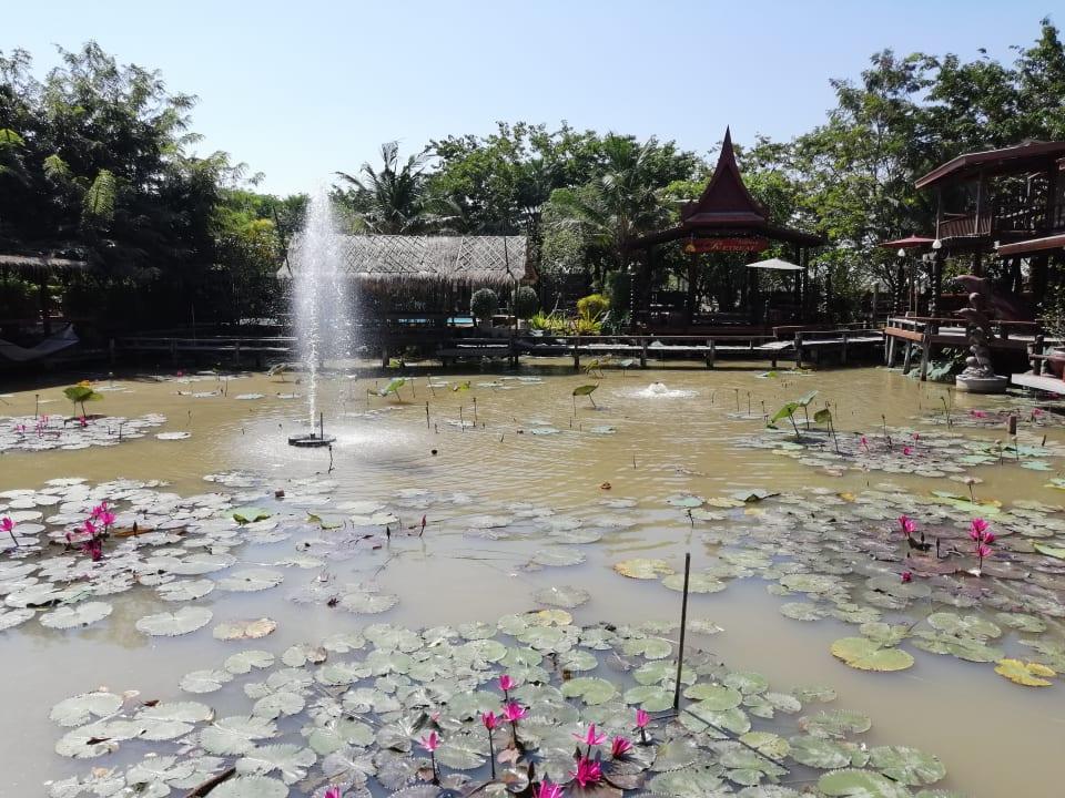 Gartenanlage Ayutthaya Retreat