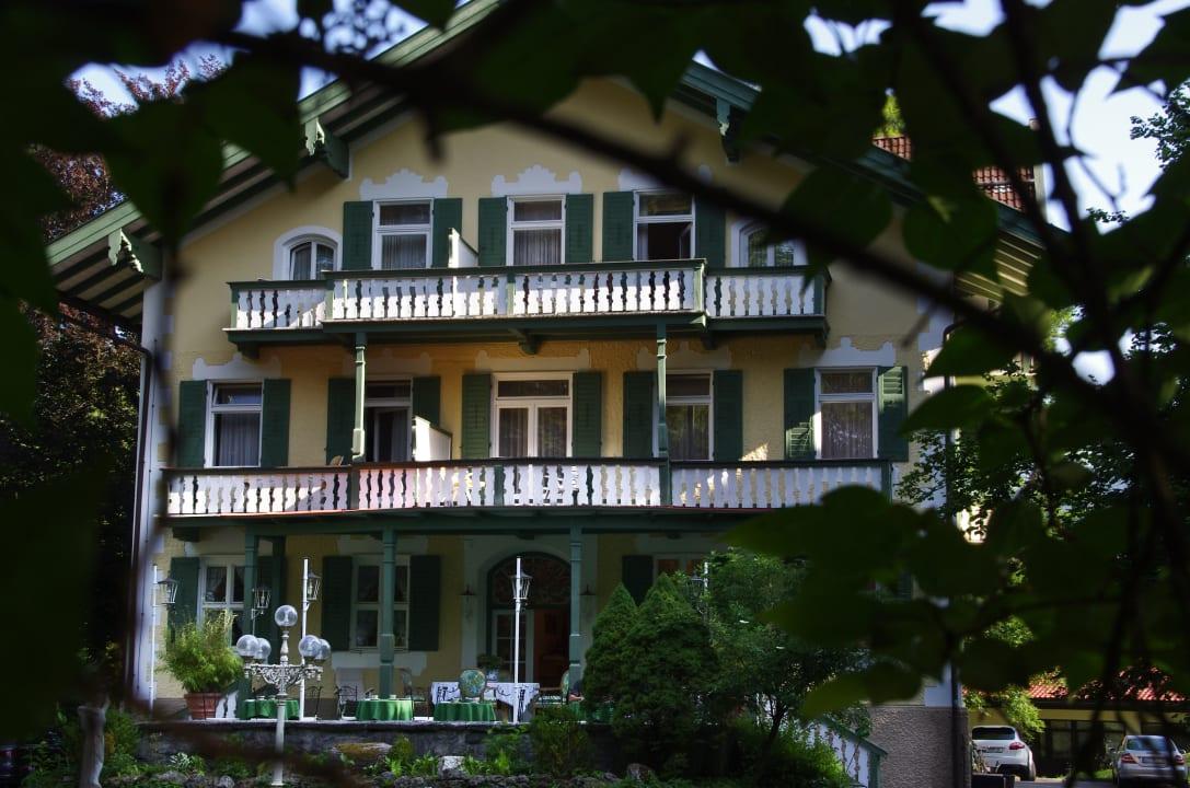 Terrassenansicht Villa Adolphine