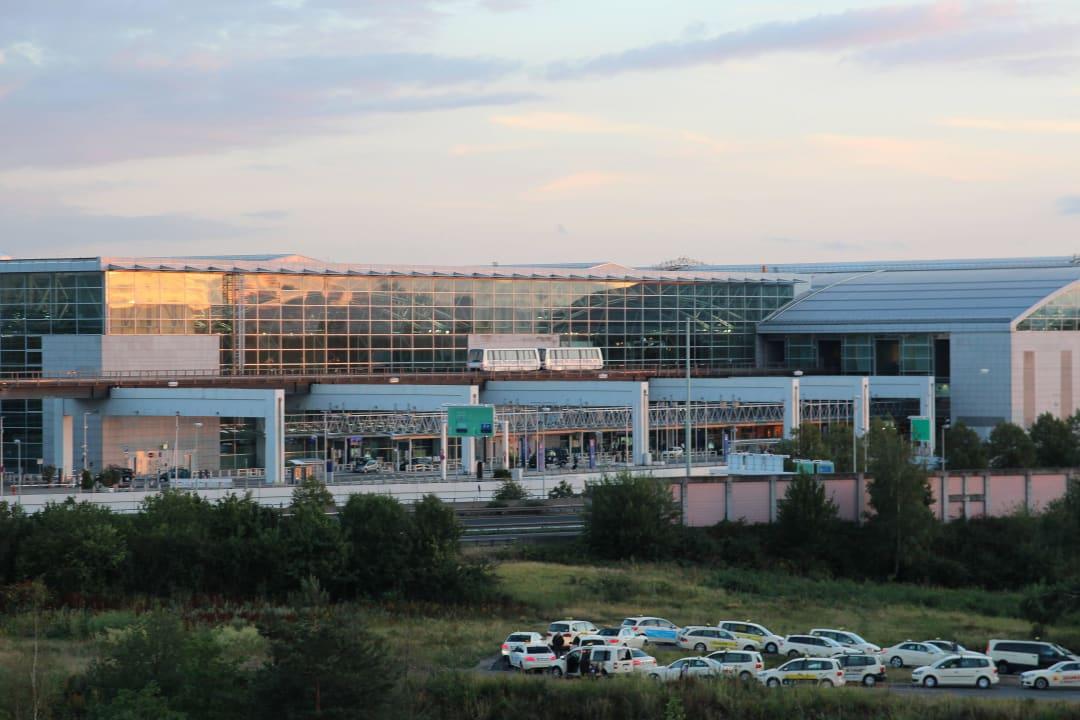 Frankfurt Airport Ankunft Morgen