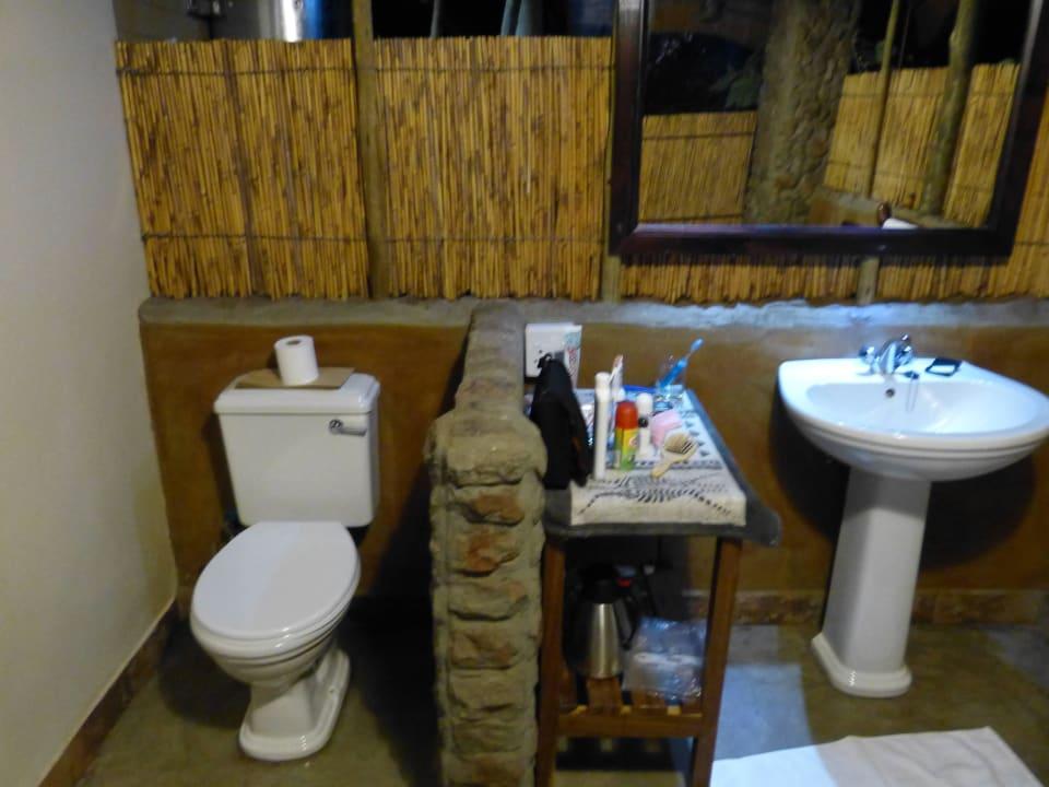 Badezimmer Nunda River Lodge