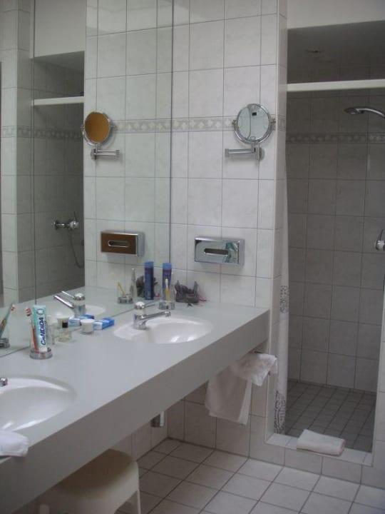 Badezimmer Hotel Schatzmann