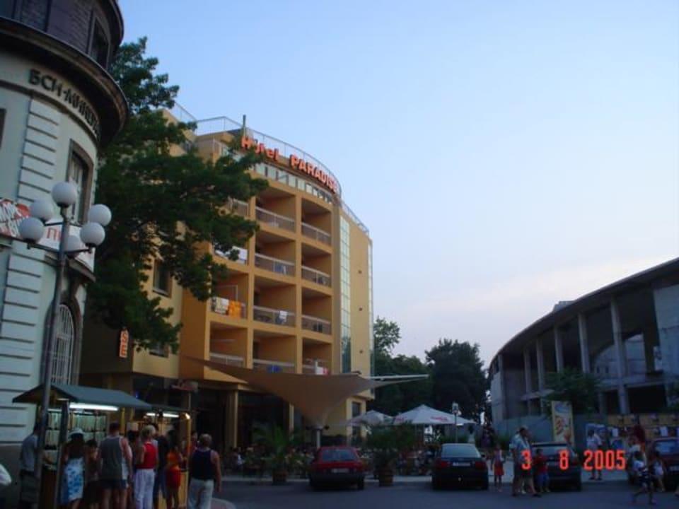 Außenansicht Hotel Paradise