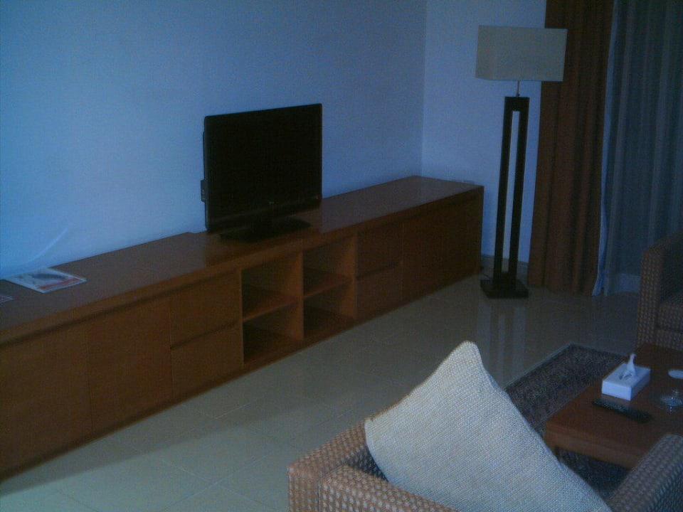 Der Fernseher Ramada Hotel & Suites by Wyndham Ajman
