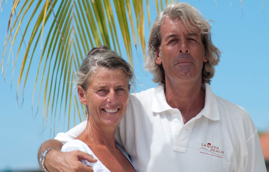 24/7 service from Marcel and Annemarie La Maya Beach Curacao Resort