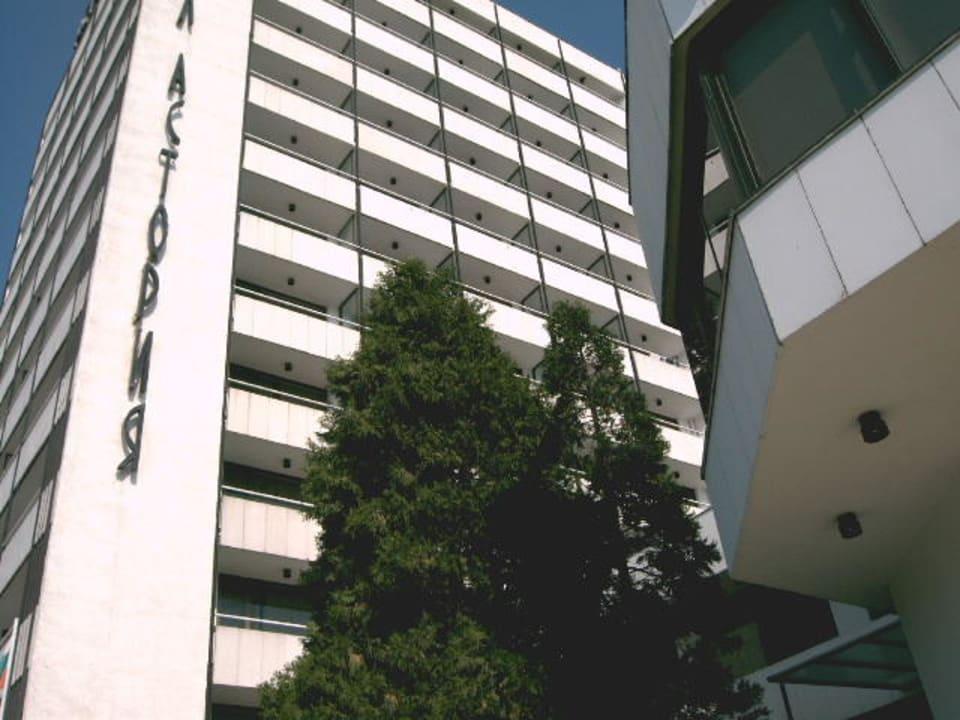 Hotel von aussen Hotel Astoria Palace  (Vorgänger-Hotel – existiert nicht mehr)