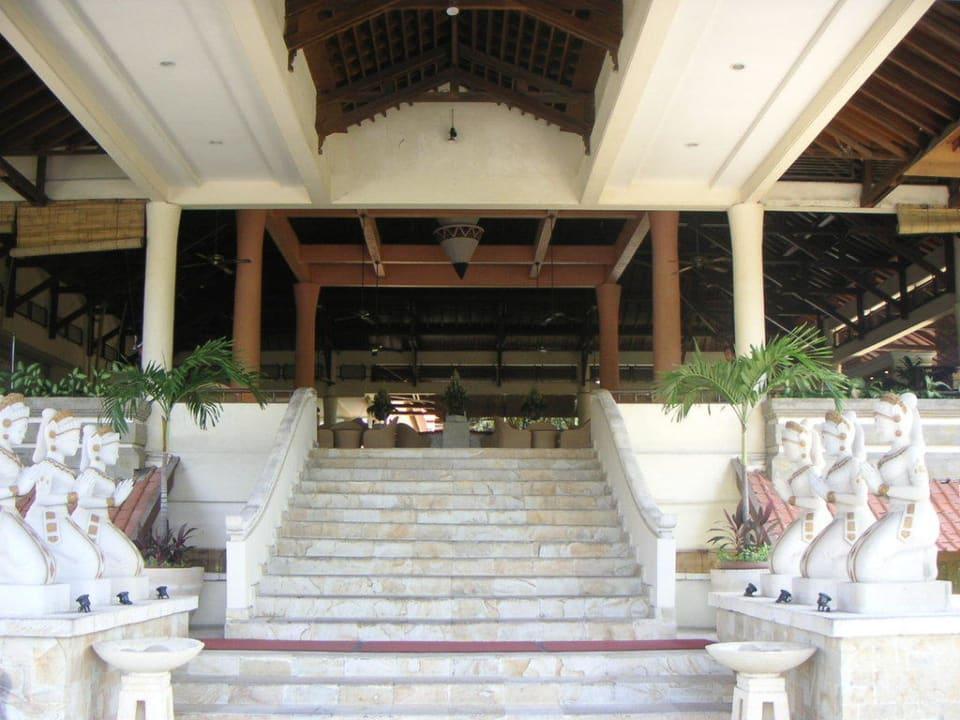 Eingangsbereich Camakila Tanjung Benoa (geschlossen)