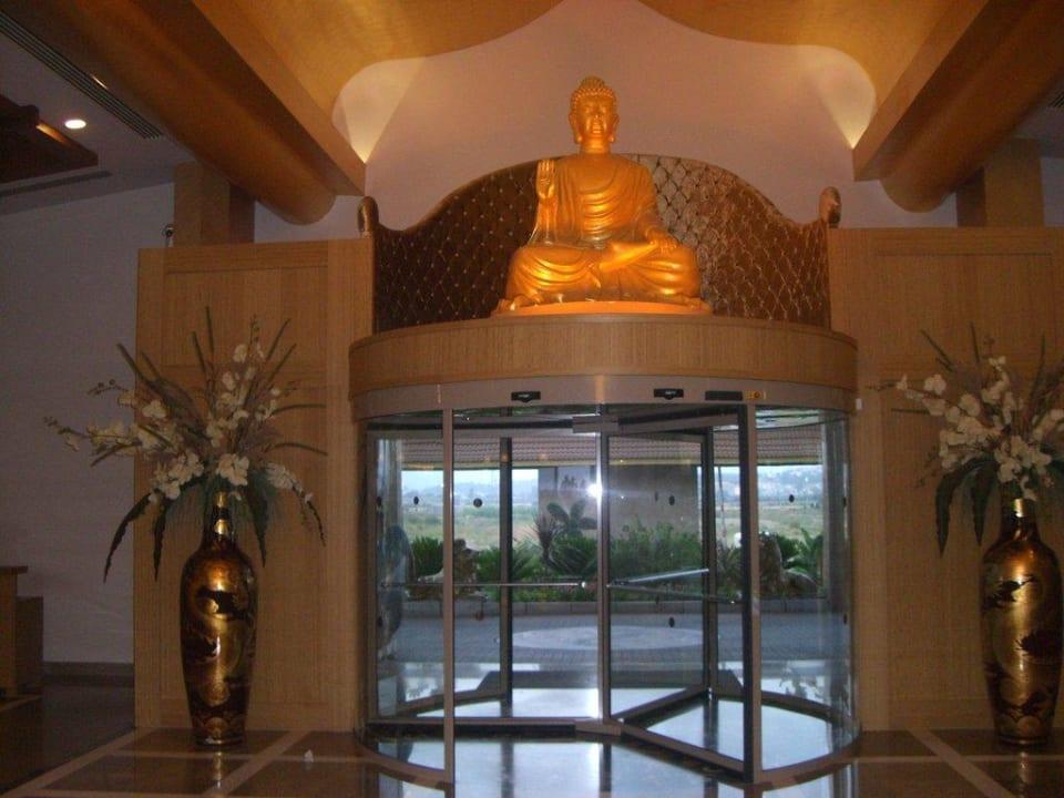 Eingangsbereich Hotel Royal Dragon