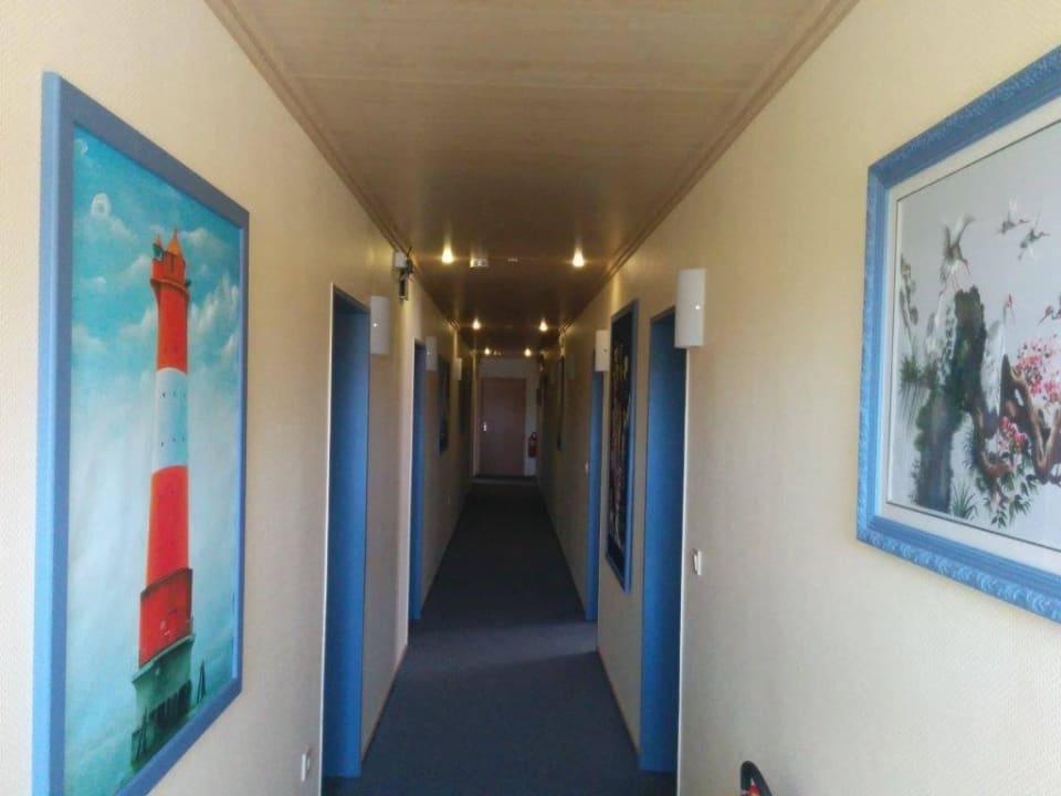 Flurbereich Hotel am Deich