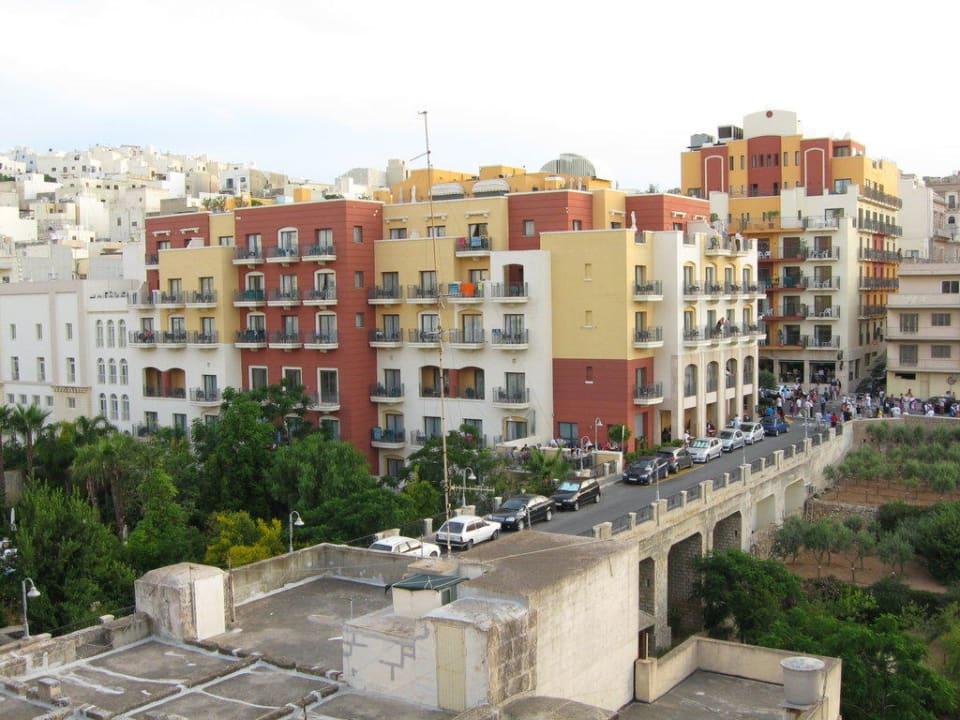 Seitenansicht Maritim Antonine Hotel & Spa Malta