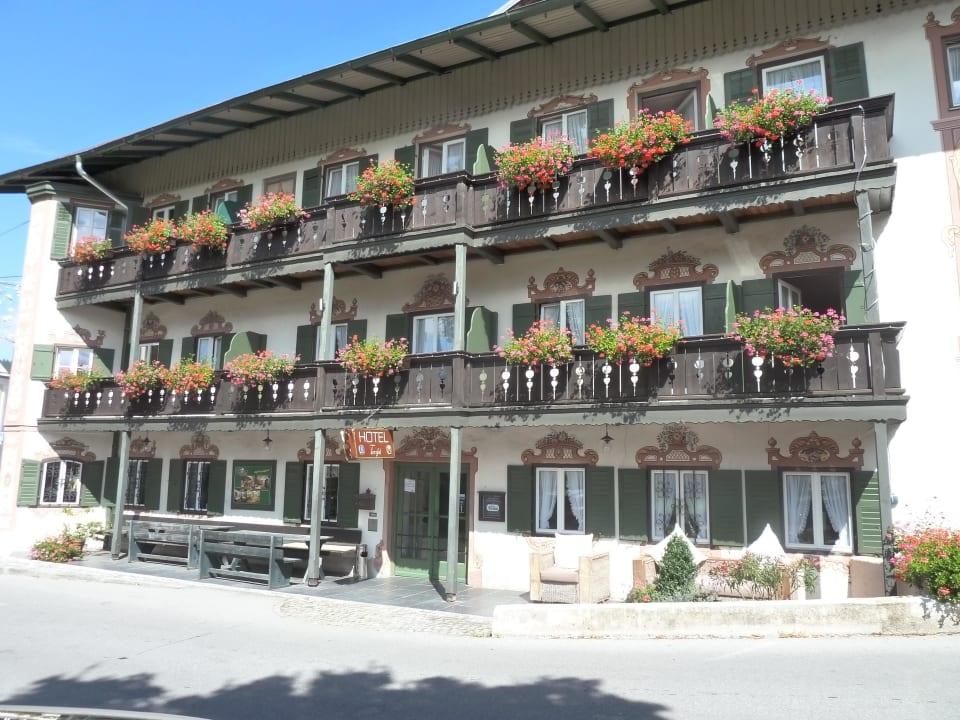 Hotel seitlich Hotel Gasthof Terofal