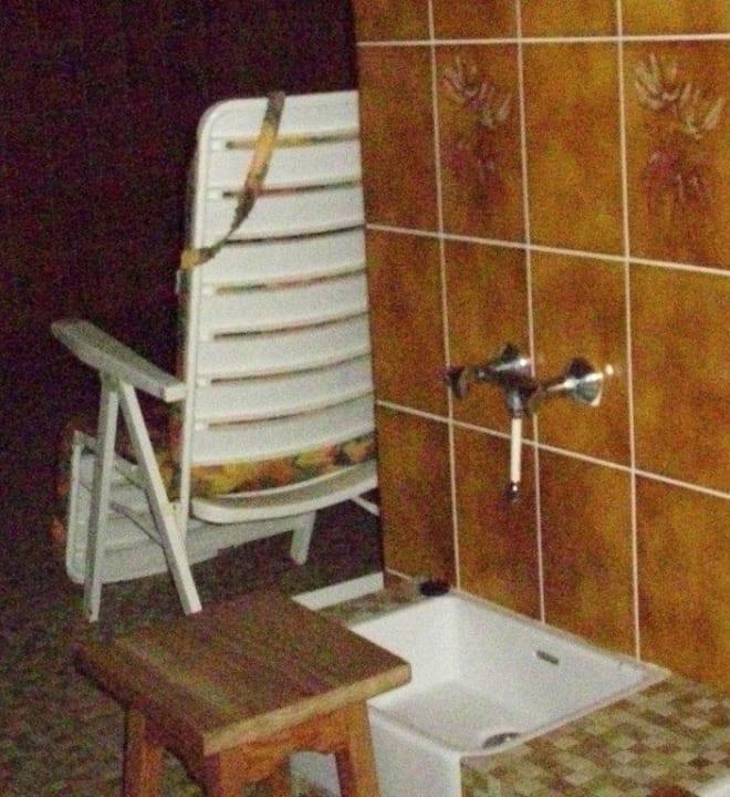 Fussbad im Saunabereich Hotel Nothnagel
