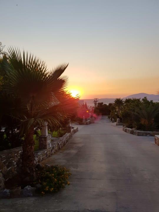 Ausblick Hotel Kouros Palace