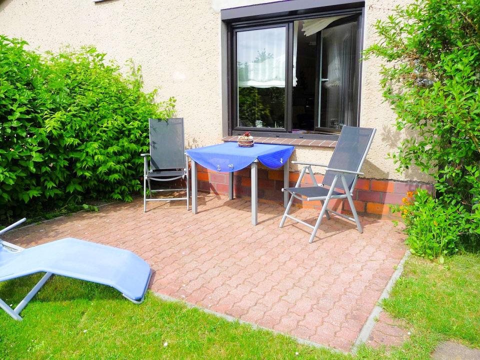Gartenanlage Ferienwohnung Schwerin Lankower See