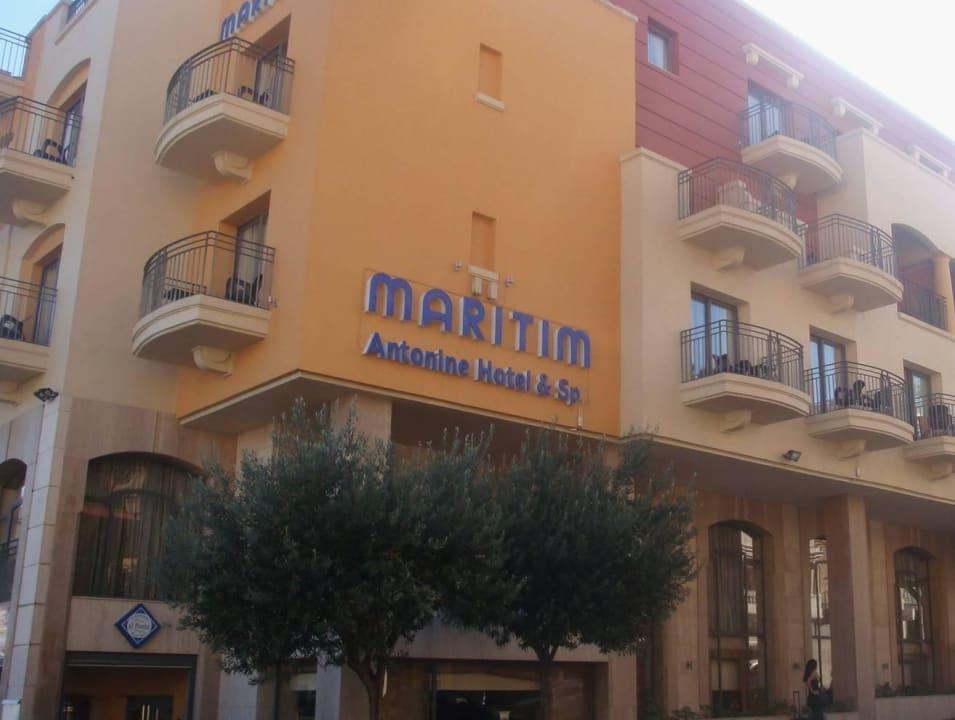 Hauptgebäude Maritim Antonine Hotel & Spa Malta