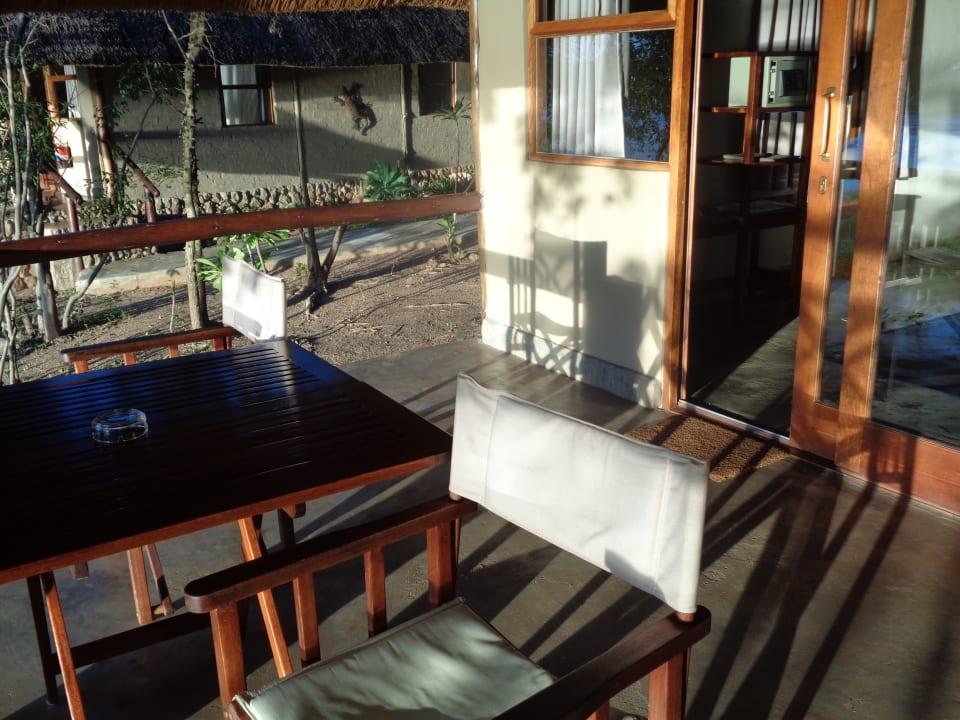 Terrasse Chalet 22 Nunda River Lodge